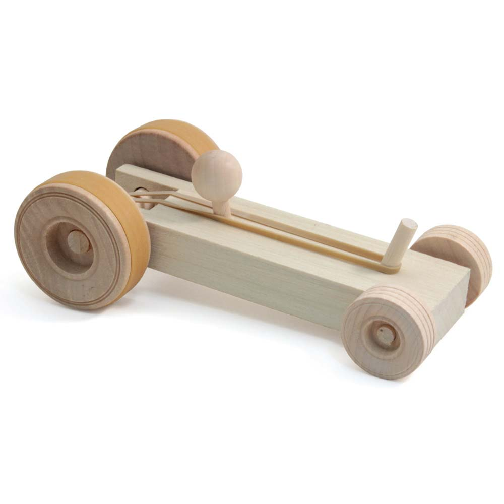 Wooden Car Kit Elementary School Educational Innovations