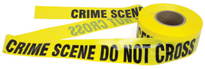 CRIME SCENE DO NOT CROSS' Barrier Tape