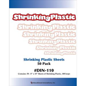 Shrinking Plastic Sheets