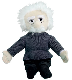 Einstein Plush Figure