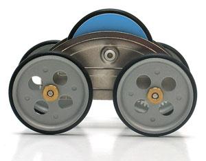 Flywheel Powered zeCar