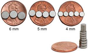 Neodymium Micro Magnets