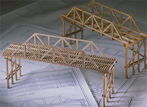 Balsa and Basswood Bridge Building Kits