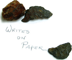 Graphite from the Franklin Pierce Mine