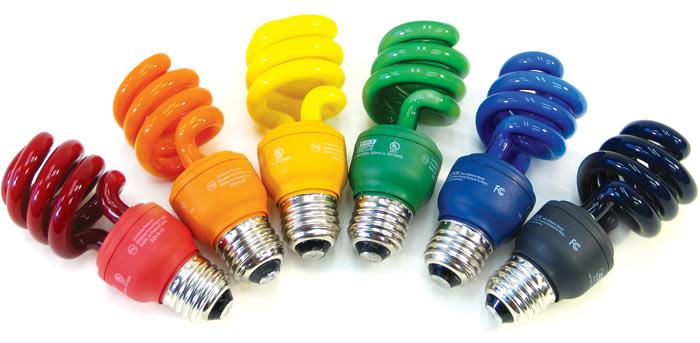 Light Amp Color Fluorescent Color Bulbs