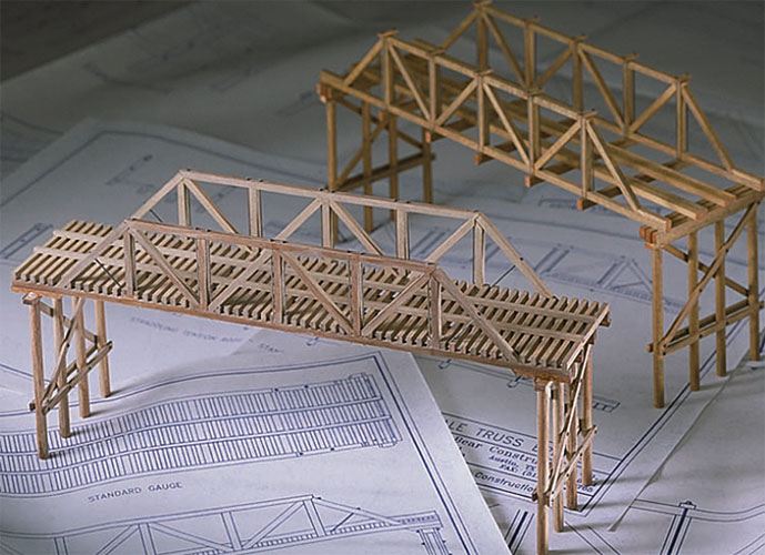 Physics Balsa Bridge Building Kits