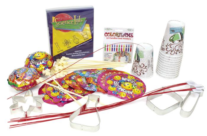 Science Fun Birthday Pack