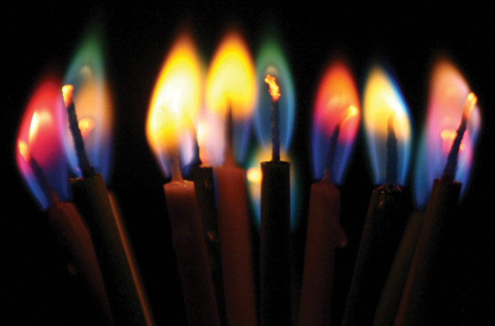 Colored Flame Candles Colorflame Candles At Educational