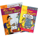 Hey Mom, Guess What? & It's Due When?!? - Two Book Set