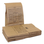 Official Evidence Bags - Official Paper Evidence Bags (50/pk)