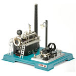 Wilesco D 18 Steam Engine with Integral Generator & Light