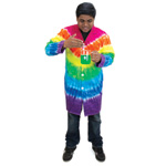 Tie-Dyed Lab Coat