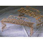 Balsa and Basswood Bridge Building Kits - Balsa Bridge Classpack (24 students)