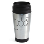Caffeine Travel Mug (Stainless Steel)