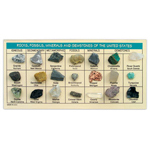 Rocks, Fossils, Minerals & Gems - Rocks, Fossils, Minerals & Gemstones of the US