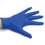 Nitrile Gloves - Nitrile Gloves - Size Large - Box of 100