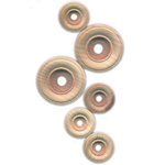 Wooden Wheels - Large Wooden Wheels, 12/pk