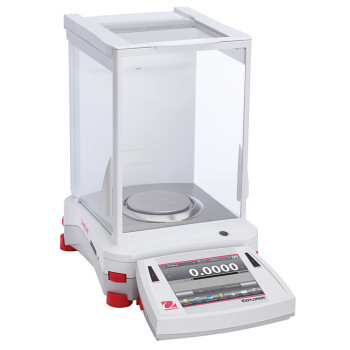 OHAUS Explorer® Analytical Balances - OHAUS Explorer Analytical Balance (OHAUS #EX124/AD)