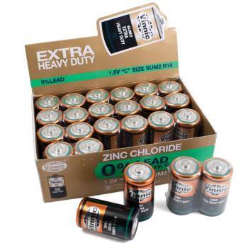 C Batteries - pack of 24
