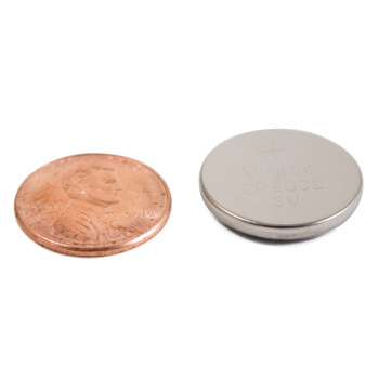 Button Batteries CR2032 Lithium 5/pk