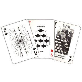 Optical Illusion Card Deck