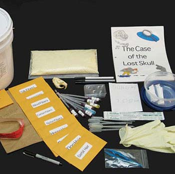 Case Of The Lost Skull: A Crime Scenario - Case Of The Lost Skull Kit