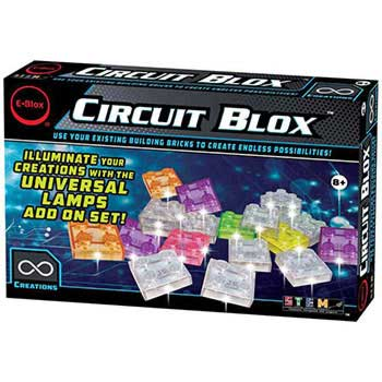 e-Blox Circuit Blox Universal Lamps add-on Set