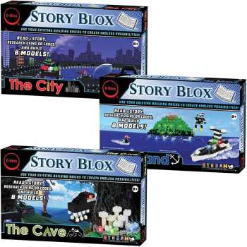 e-Blox StoryBlox 3-in-1 Classroom Set