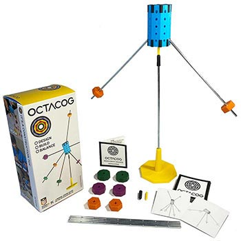 Octacog Balance Construction Toy and Game