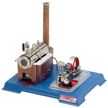 Wilesco D10 Steam Engine with Add-On Generator/Light Kit