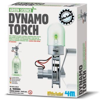 Dynamo Torch - Green Science Kit
