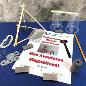 Ciencias Sorprendentes para Niños: ¡Más aventuras magnéticas!  (SPANISH)