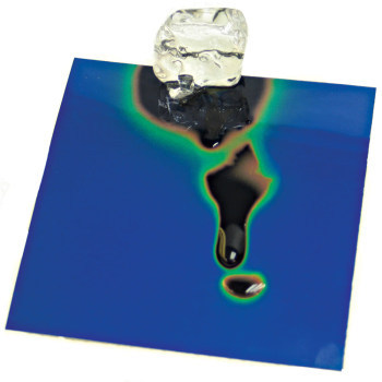 Liquid Crystal Sheets (4x4 inch) - Liquid Crystal Sheet, 30-35C Transition (4x4 inch)