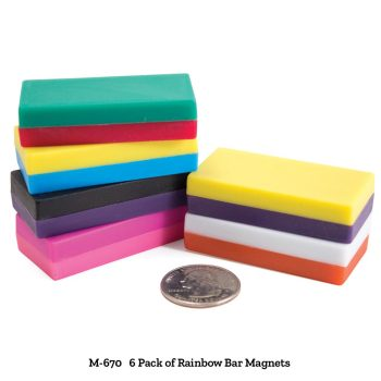 Rainbow Bar Magnets