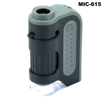 Pocket LED Hand-Held Microscopes - 60x-120x LED Hand-Held Microscope