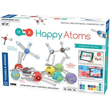Happy Atoms Complete Set (50 Atoms)