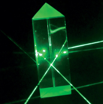 Equilateral Prism - 25 x 75 mm  (Optical Glass)