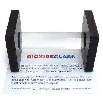 Dioxide Glass Puzzle