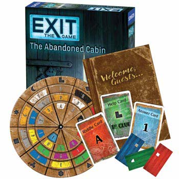 Exit: Escape Room Kits - Exit: The Abandoned Cabin