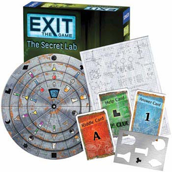 Exit: Escape Room Kits - Exit: The Secret Lab