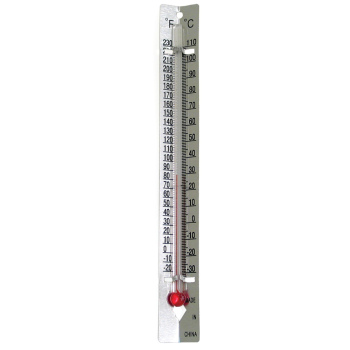 Room Thermometer - Metal Back - Metal Back Thermometer (single)