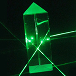 Prisms, Equilateral & Right Angle - Equilateral Prism - 25 x 75mm  (Optical Glass)