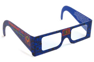 Chromadepth 3D Glasses (pkg of 10)
