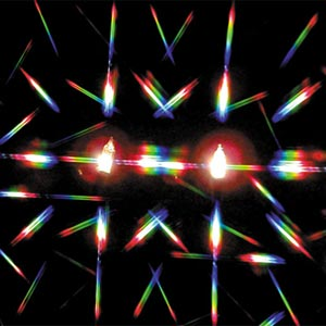 Double Axis Diffraction Grating Material