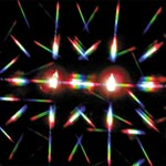 Double Axis Diffraction Grating Material - Double Axis Diffraction Grating Material (8 in. x 10 in. sheet)