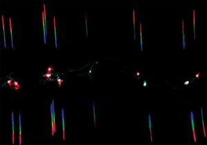 Single Axis Diffraction Grating