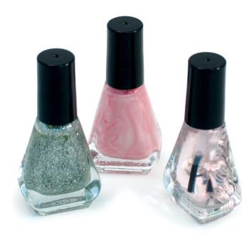 3-Pack Assorted UV Nail Polish