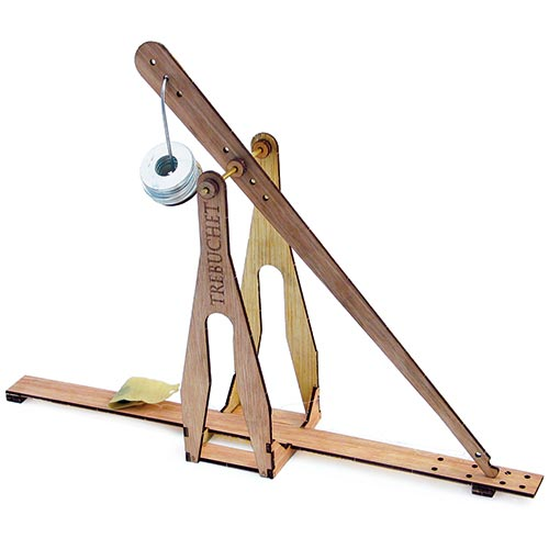 Science fair ideas mini trebuchet kit for Catapult design plans for physics