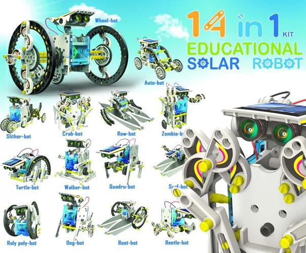 Energy 14 In 1 Educational Solar Robot