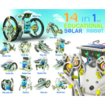 14 in one Educational Solar Robot